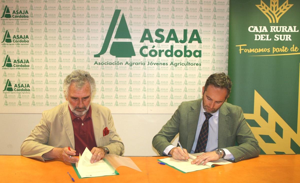 Nuevo acuerdo entre Asaja Córdoba y Clínica El Brillante Oftlamología