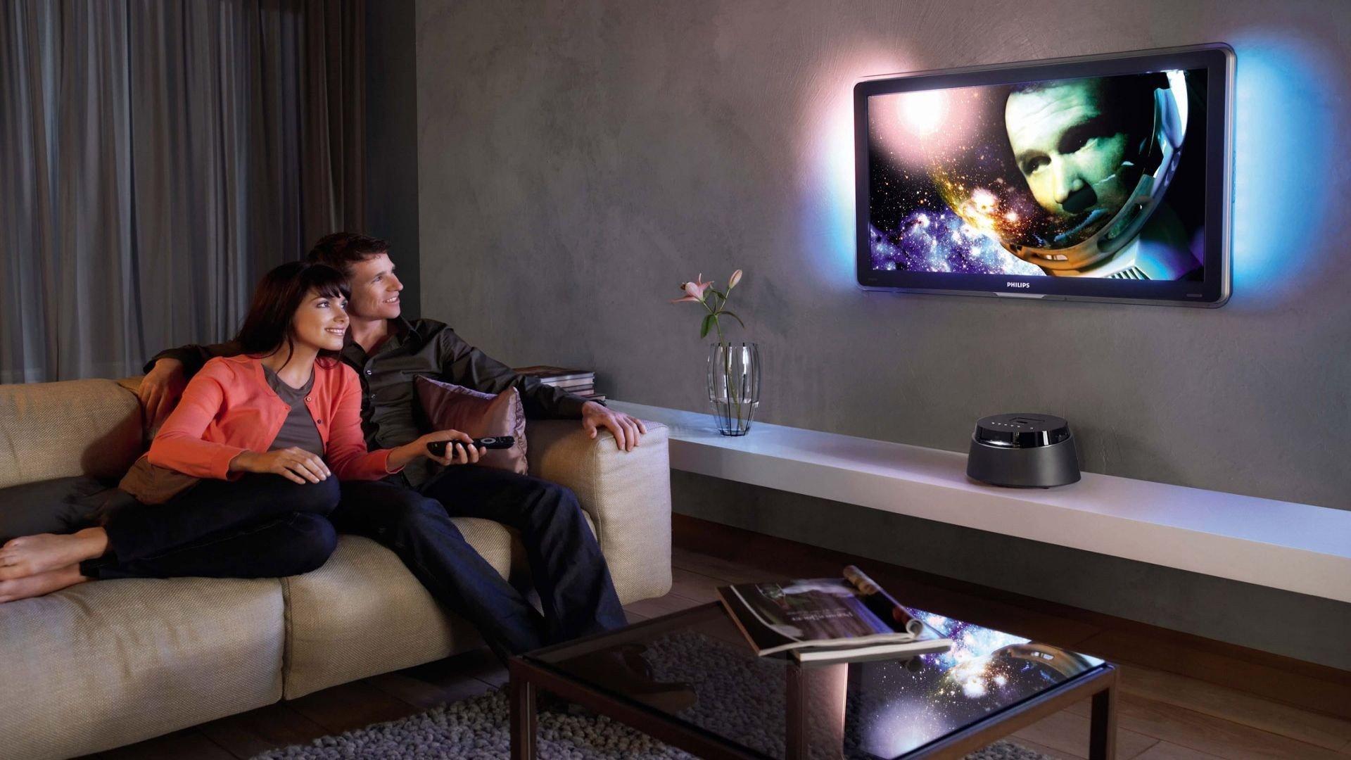 La televisión y la vista
