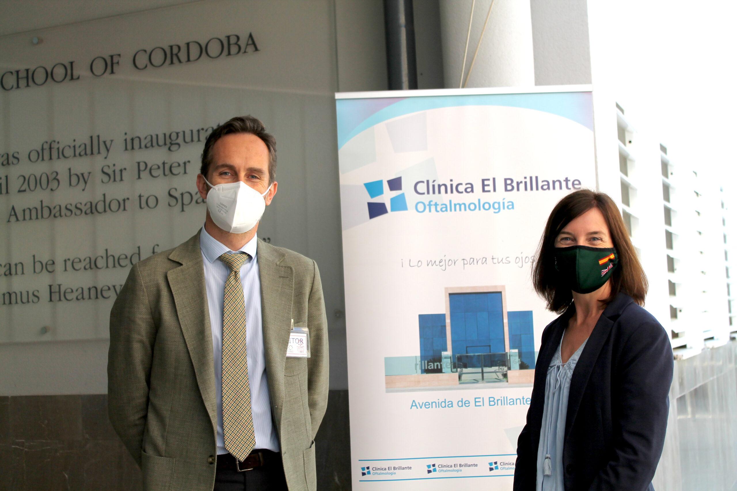 Clínica El Brillante con el Colegio Británico de Córdoba